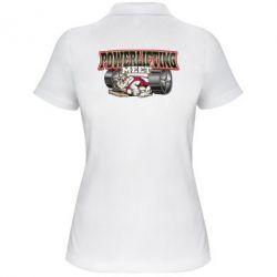 Женская футболка поло Powerlifting Meet - FatLine