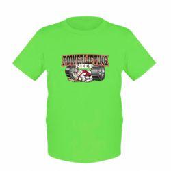 Детская футболка Powerlifting Meet - FatLine