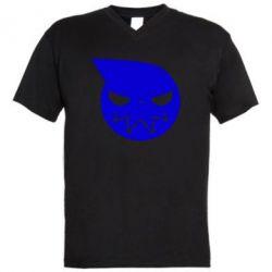 Чоловіча футболка з V-подібним вирізом Пожирач душ