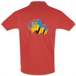 Мужская футболка поло Прапор України з гербом