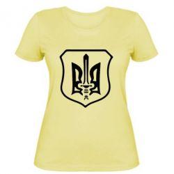 Женская футболка Правий сектор - FatLine