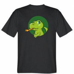 Чоловіча футболка Святковий динозавр