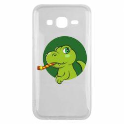 Чохол для Samsung J5 2015 Святковий динозавр