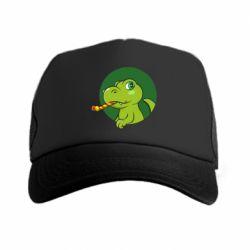 Кепка-тракер Святковий динозавр