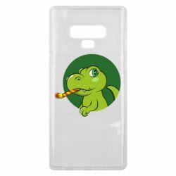 Чохол для Samsung Note 9 Святковий динозавр