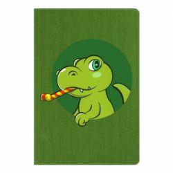 Блокнот А5 Святковий динозавр