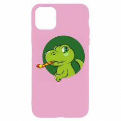 Чохол для iPhone 11 Pro Святковий динозавр