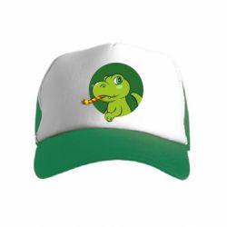 Дитяча кепка-тракер Святковий динозавр