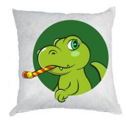 Подушка Святковий динозавр