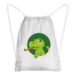 Рюкзак-мішок Святковий динозавр