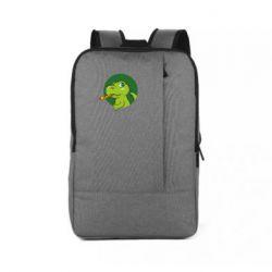 Рюкзак для ноутбука Святковий динозавр