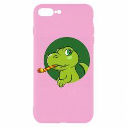 Чохол для iPhone 7 Plus Святковий динозавр