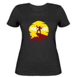 Жіноча футболка Predator