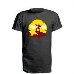 Подовжена футболка Predator