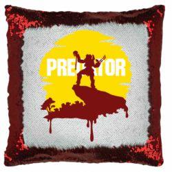 Подушка-хамелеон Predator