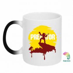 Кружка-хамелеон Predator
