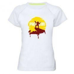 Жіноча спортивна футболка Predator