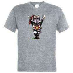 Чоловіча футболка з V-подібним вирізом Prepare to Cry