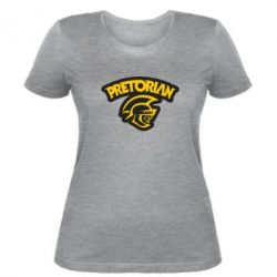 Женская футболка Pretorian - FatLine