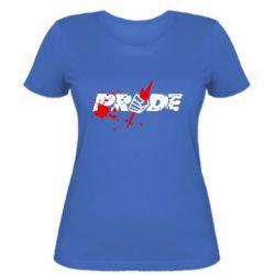 Женская Pride Logo - FatLine
