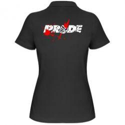 Женская футболка поло Pride Logo - FatLine