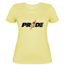 Женская футболка Pride