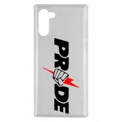 Чехол для Samsung Note 10 Pride