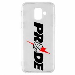 Купить MMA, Чехол для Samsung A6 2018 Pride, FatLine