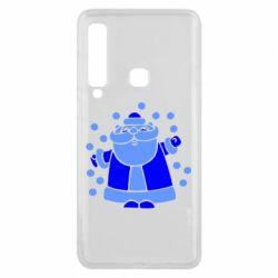 Чохол для Samsung A9 2018 Прикольний дід мороз
