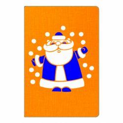 Блокнот А5 Прикольний дід мороз