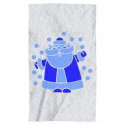 Рушник Прикольний дід мороз