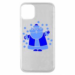 Чохол для iPhone 11 Pro Прикольний дід мороз