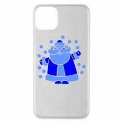Чохол для iPhone 11 Pro Max Прикольний дід мороз
