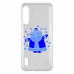Чохол для Xiaomi Mi A3 Прикольний дід мороз
