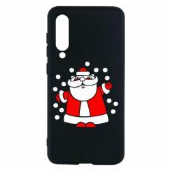 Чехол для Xiaomi Mi9 SE Прикольный дед мороз