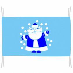 Прапор Прикольний дід мороз