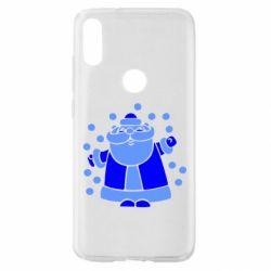 Чохол для Xiaomi Mi Play Прикольний дід мороз