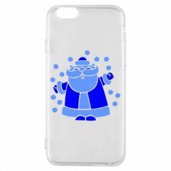 Чохол для iPhone 6/6S Прикольний дід мороз