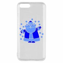 Чехол для Xiaomi Mi6 Прикольный дед мороз