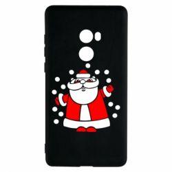 Чехол для Xiaomi Mi Mix 2 Прикольный дед мороз