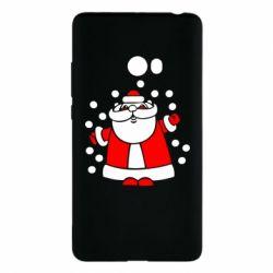 Чехол для Xiaomi Mi Note 2 Прикольный дед мороз