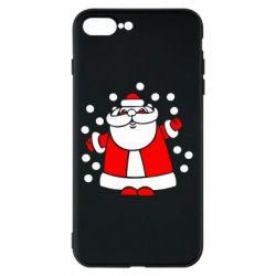 Чохол для iPhone 8 Plus Прикольний дід мороз