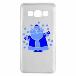 Чохол для Samsung A3 2015 Прикольний дід мороз