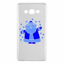 Чохол для Samsung A7 2015 Прикольний дід мороз