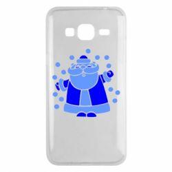Чохол для Samsung J3 2016 Прикольний дід мороз