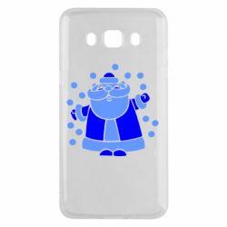 Чохол для Samsung J5 2016 Прикольний дід мороз