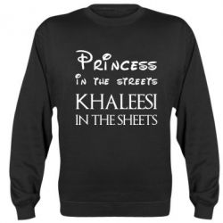 Реглан (свитшот) Princess in the streets