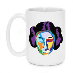 Кружка 420ml Princess Leia Colorful Art