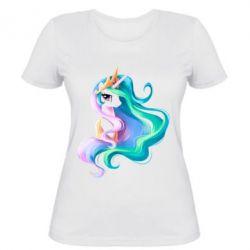 Женская футболка Принцесса Селестия