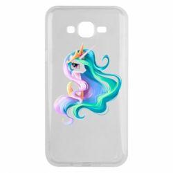 Чохол для Samsung J7 2015 Принцеса Селеста - FatLine